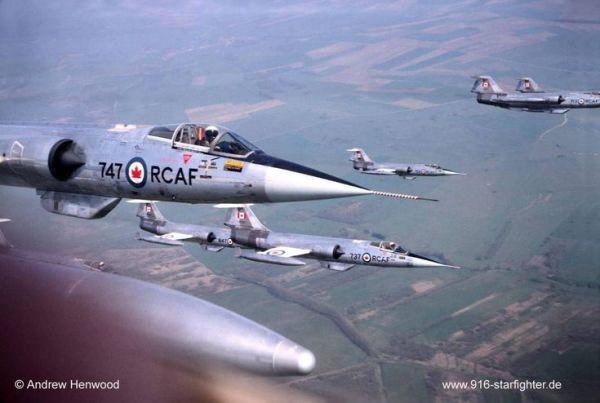F 104 6 600x403 - CAÇAS CENTURY: Lockheed F-104 Starfighter