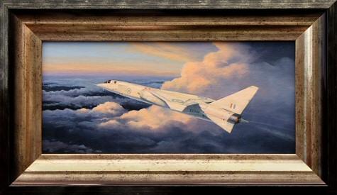 O TSR2 apenas como uma lembrança de um Tempo aonde a Grã-Bretanha era um pólo de tecnologia aeronáutica. (Concepção artística: stephenbrownaviationart)