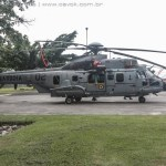 LAAD: Helibras expõe novos helicópteros EC725 da Marinha e da FAB