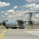 IMAGEM: Segundo A400M da Força Aérea da Francesa aciona seus motores