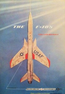 F 105 11 207x300 - CAÇAS CENTURY: Republic F-105 Thunderchief