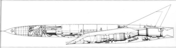 XF 103 600x163 - CAÇAS CENTURY( Os Esquecidos): Republic XF-103 Thunderwarrior