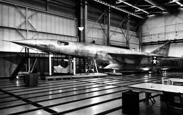 XF-103 mock-up. (Foto: força aérea dos EUA)