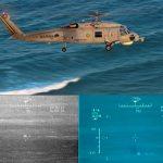 Aeronave MH-16 participa de sua primeira operação com a presença de submarino