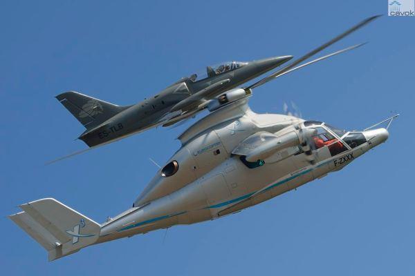 X3 copyright Alain ERNOULT 624905 600x400 - IMAGENS: Helicóptero híbrido X3 da Eurocopter atinge 472 km por hora