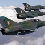 Ucrânia vence competição para reparar caças MiG-21 croatas