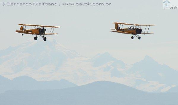 Aeronaves do Canadian Heritage Museum.  (Foto: Bernardo Malfitano / Cavok)