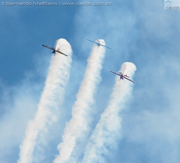 The FOURce aerobatics