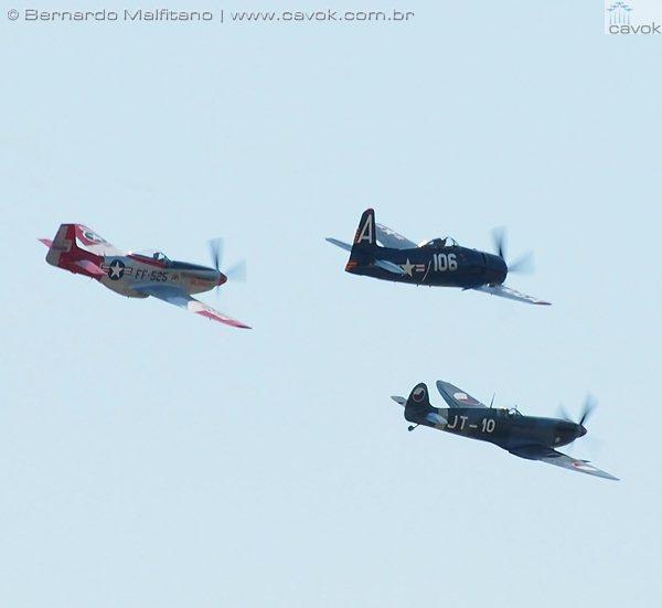 Spitfire - Mustang - Bearcat