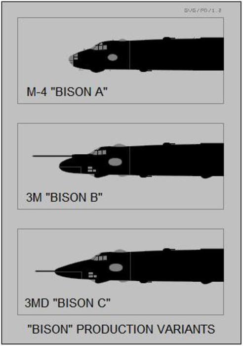 041 492x700 - Bombardeiros Soviéticos: Myasishchev M-4