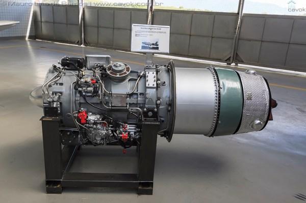 O turbojato de um Xavante. (Foto: Mauro Lins de Barros / Cavok)
