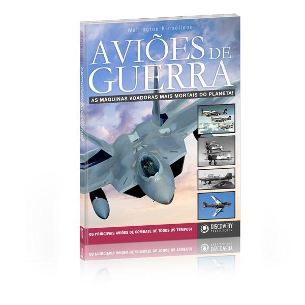 Capa do livro Aviões de Guerra, da Discovery Publicações.