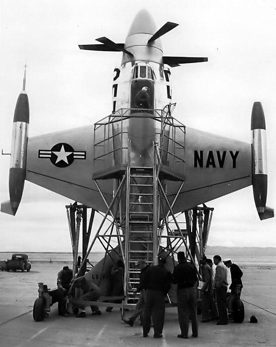 Lockheed XFV-1 vertical raiser #02