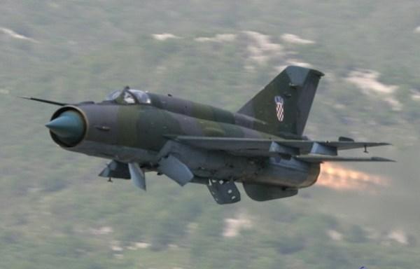 MiG-21 - Croatia airforce