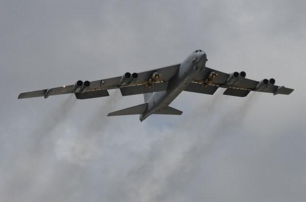 Um B-52 Stratofortress (Imagem: Carlin Leslie)