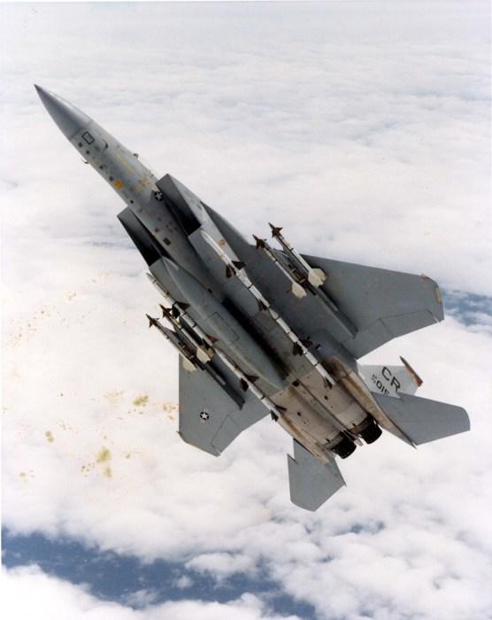 F-15C Eagle: alerta Zulu