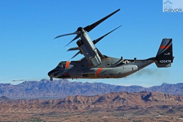Os testes possibilitam que o V-22 Osprey possa disparar foguetes e mísseis. (Foto: Bell Helicopter)