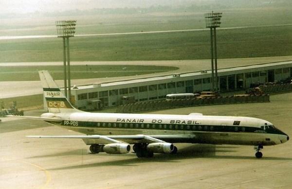 Panair do Brasil. Douglas DC-8-33. Registro PP-PDS