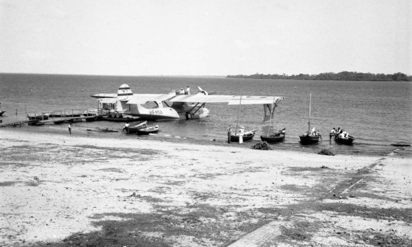 Santarém - Hidroporto da Panair do Brasil, 1947