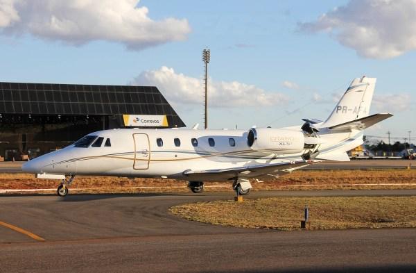 Cessna 560XL Citation PR-AFA - Eduardo Campos