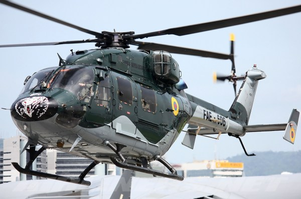 HAL Dhruv - Ecuador - Air Force