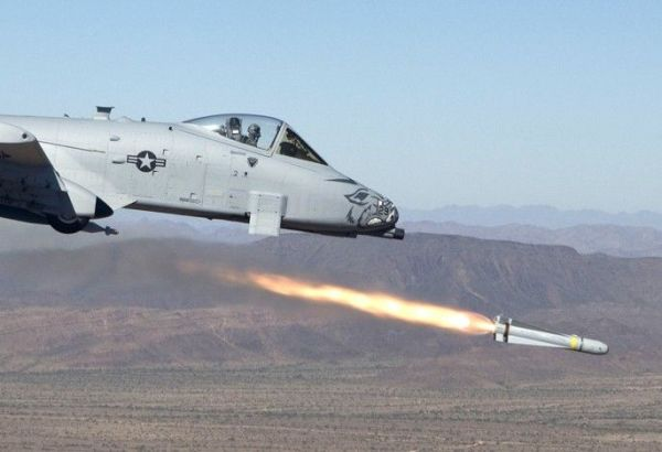 """A-10C Thunderbolt II """"Warthogs"""" with the 188th Fighter Wing, Arkansas Air National Guard conduct close-air support training near Davis-Monthan Air Force Base, Arizona."""