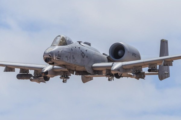 Fairchild Republic A-10C Thunderbolt II of the 47th Fighter Squadron Dogpatchers from Davis-Monthan AFB