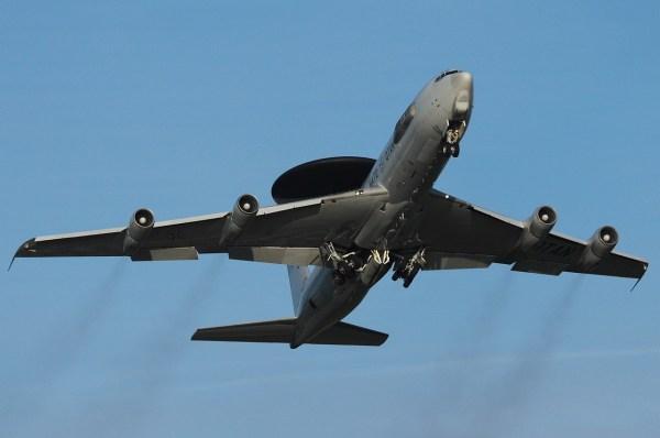 Boeing E-3A Sentry / Foto: Johannes Kreutzer, OTAN