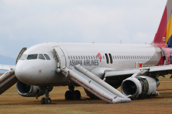 Aeronave acidentada - Airbus A320-232, prefixo HL7762, Foto Kyodo, Reuters 1