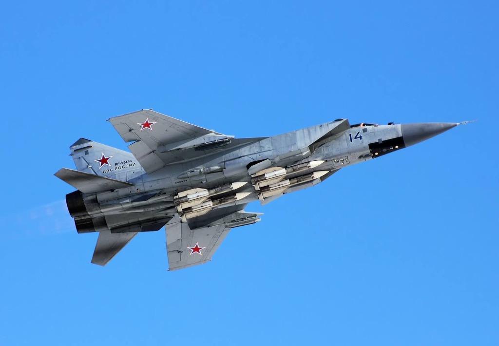 RÚSSIA: VVS recebe o segundo esquadrão de caças MiG-31BM | Cavok Brasil - Aviação e Fotografia