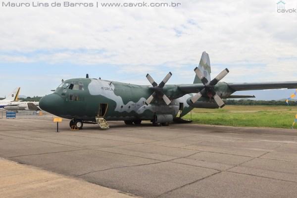 A aeronave C-130 FAB-2453 pode agora ser vista no acervo do Museu Aeroespacial no Campo dos Afonsos. (Foto: Mauro Lins de Barros / Cavok)