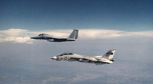F-15+F-14 (1976)