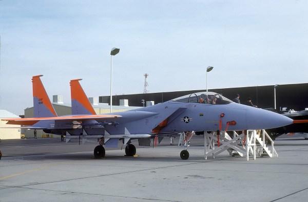 McDonnell Douglas F-15A Eagle (1977) Brian Lockett