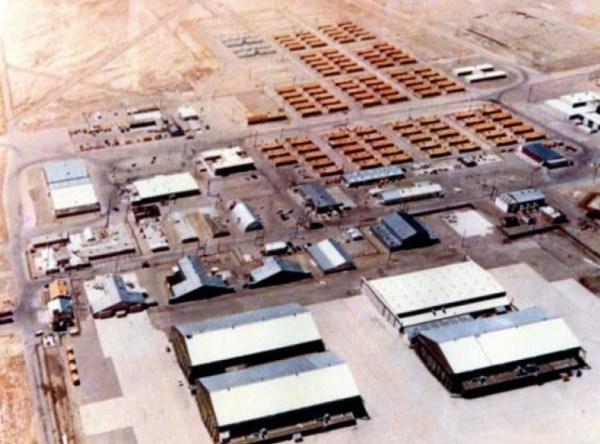 Aérea 51, adequações de infraestrutura - Roadrunners Internationale
