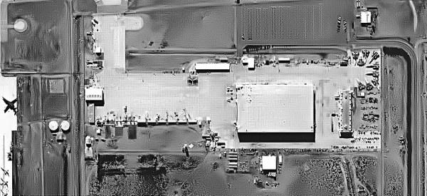 A-12 armazenados, até meados dos anos 80, nas instalações da Lockheed, em Palmdale, na Califórnia - Lockheed Martin