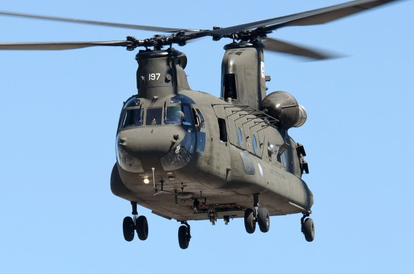 Boeing CH-47D Chinook, by Sergey Rimsha