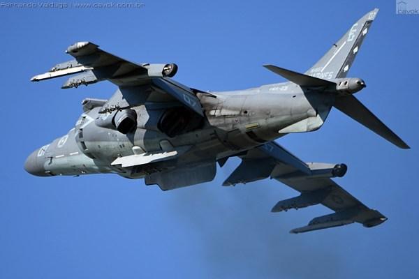 Duas aeronaves se apresentaram na quinta-feira. (Foto: Fernando Valduga / Cavok Brasil)