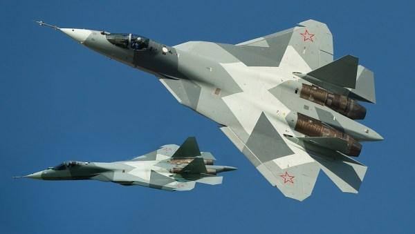 Sukhoi T-50 PAK-FA 1