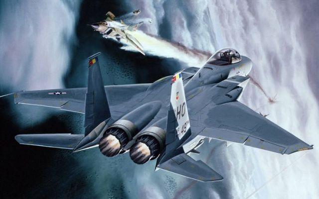 F-15_MiG-23