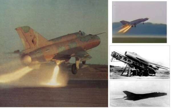 Os soviéticos também estudaram a utilização de JATO