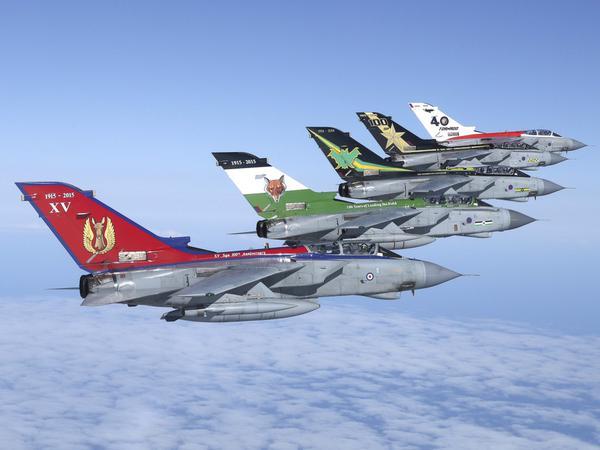 RAF comemora os 40 anos do Tornado