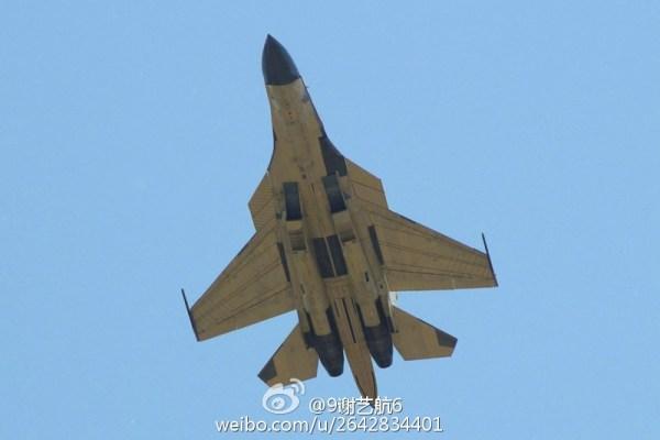 Nova aeronave de combate chinesa (estilo Su-34)