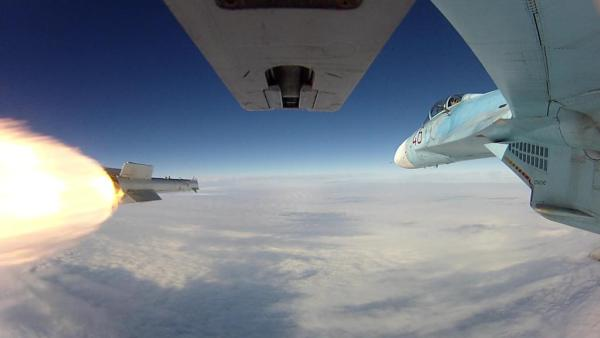 Su-27 VVS míssil