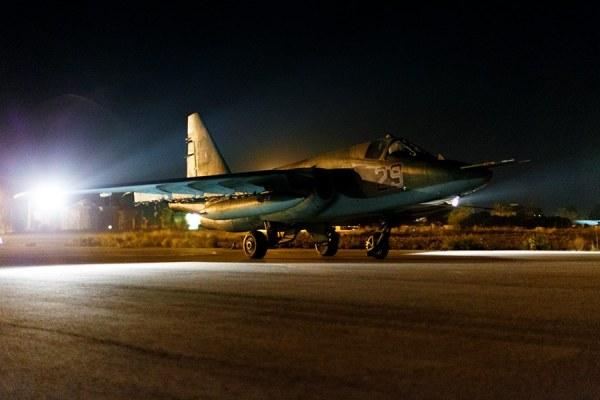 Sukhoi Su-25SM da VKS em Latakia – Ministério da Defesa da Federação Russa