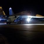 IMAGENS: Operações noturnas das Forças Aeroespaciais Russas na Síria