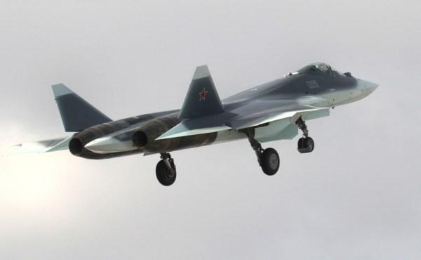 Sukhoi T-50-5 PAK FA, by Vladimir Vorobyov (1)