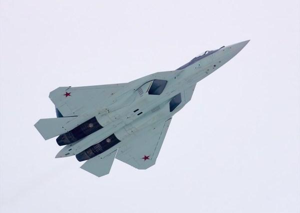 Sukhoi T-50-5 PAK FA, by Vladimir Vorobyov