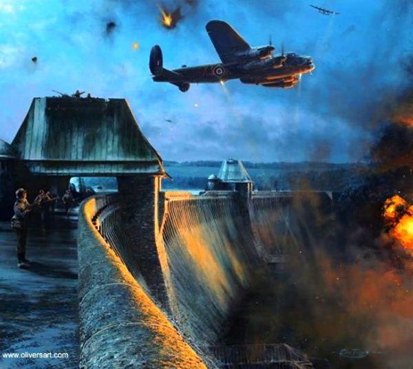 capa22 600x536 - BOMBARDEIROS DA II GUERRA: Ataque a represas