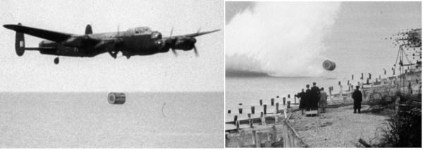 praticando 600x214 - BOMBARDEIROS DA II GUERRA: Ataque a represas
