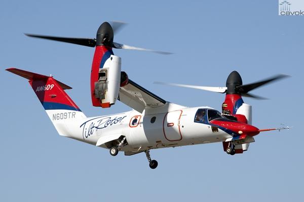 N609TR AgustaWestland AW609, Foto - Tony Osborne